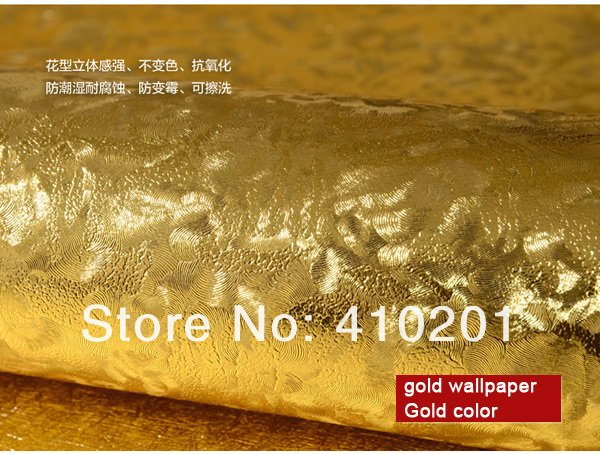 saling Gold wallpaper wall paper Big order Big Discount wallpaper 600x454
