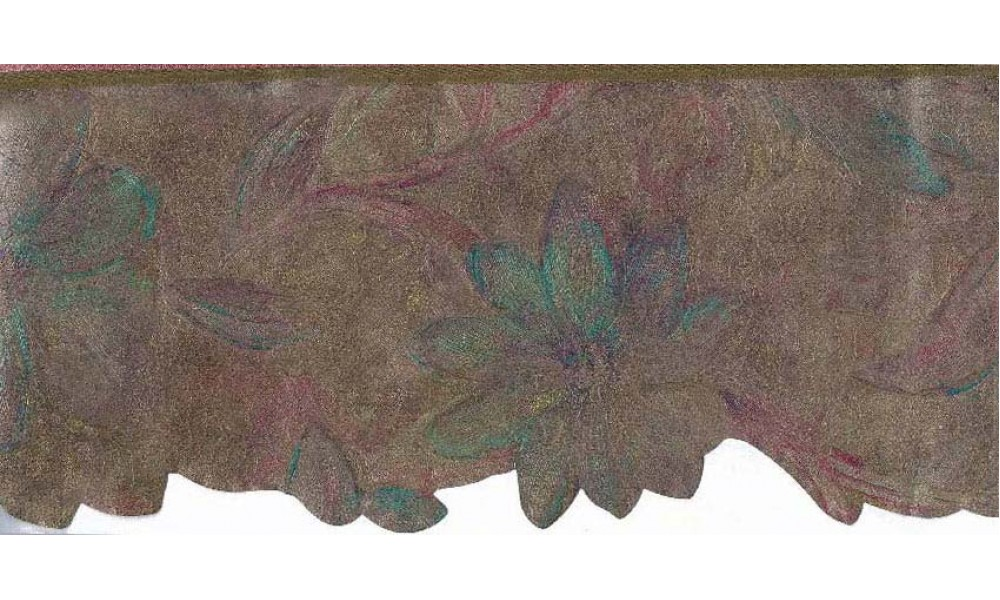 Home Vintage Borders Floral Shaped Molding Wallpaper Border 1000x600