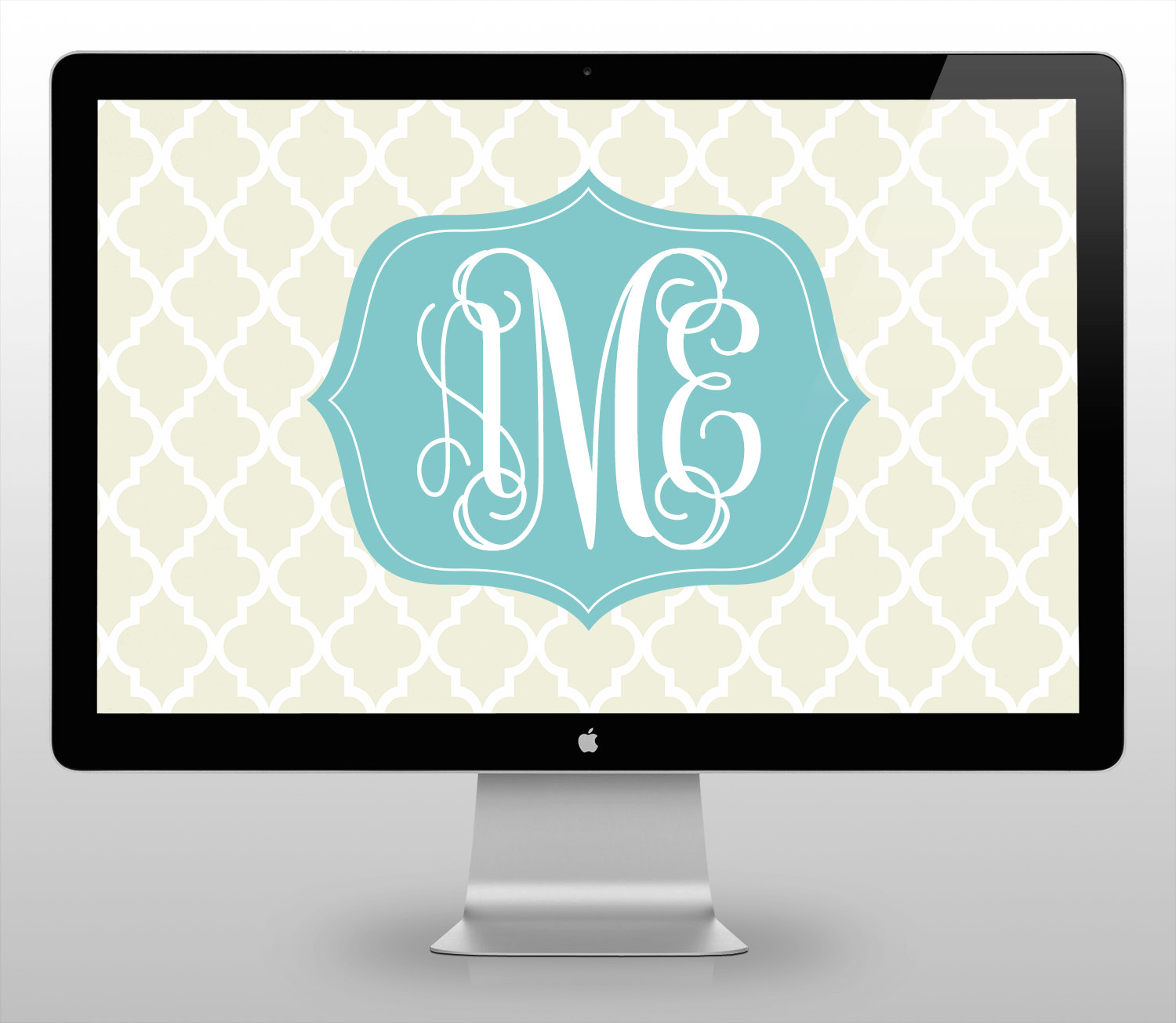 moroccan monogram desktop wallpaper from monogramsbyks 1500x1305
