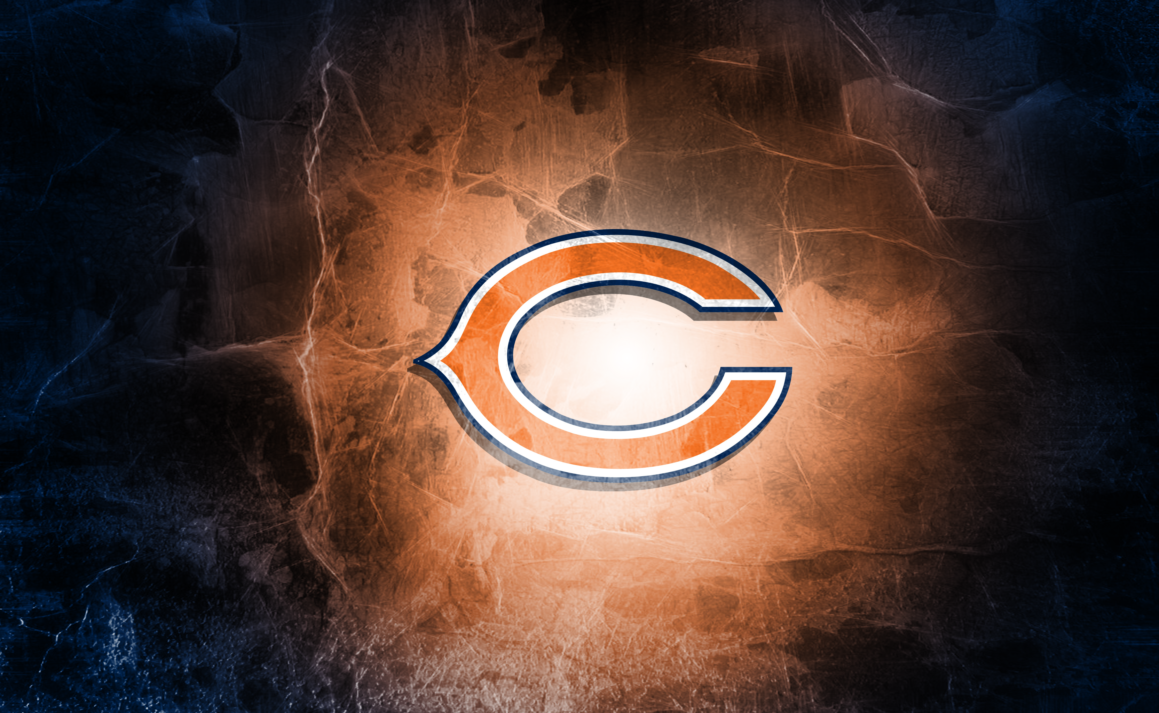 Chicago Bears Football Team Logo Wallpapers HD 3900x2400
