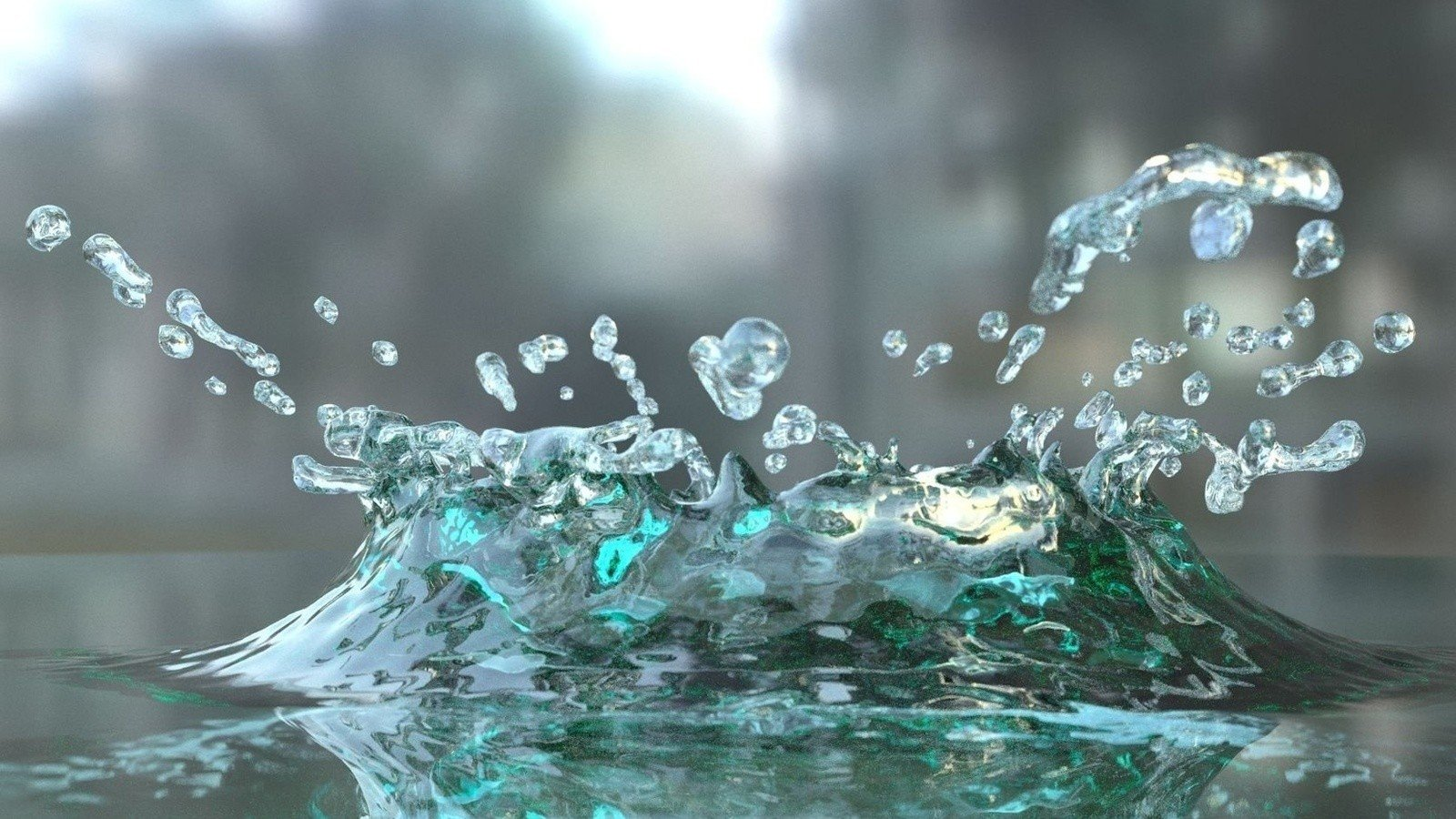 3D Water Wallpaper WallpaperSafari