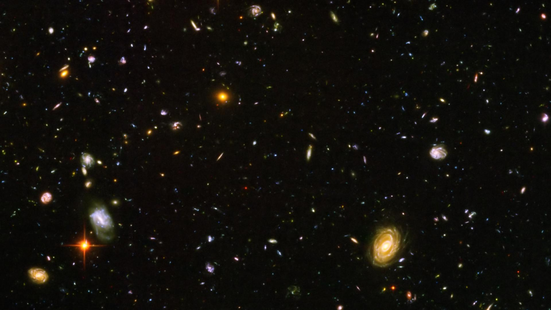 hubble deep field hd wallpaper - photo #13