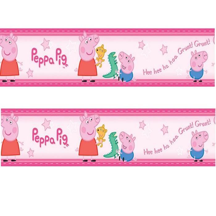 Peppa Pig Wallpaper Border 700x700
