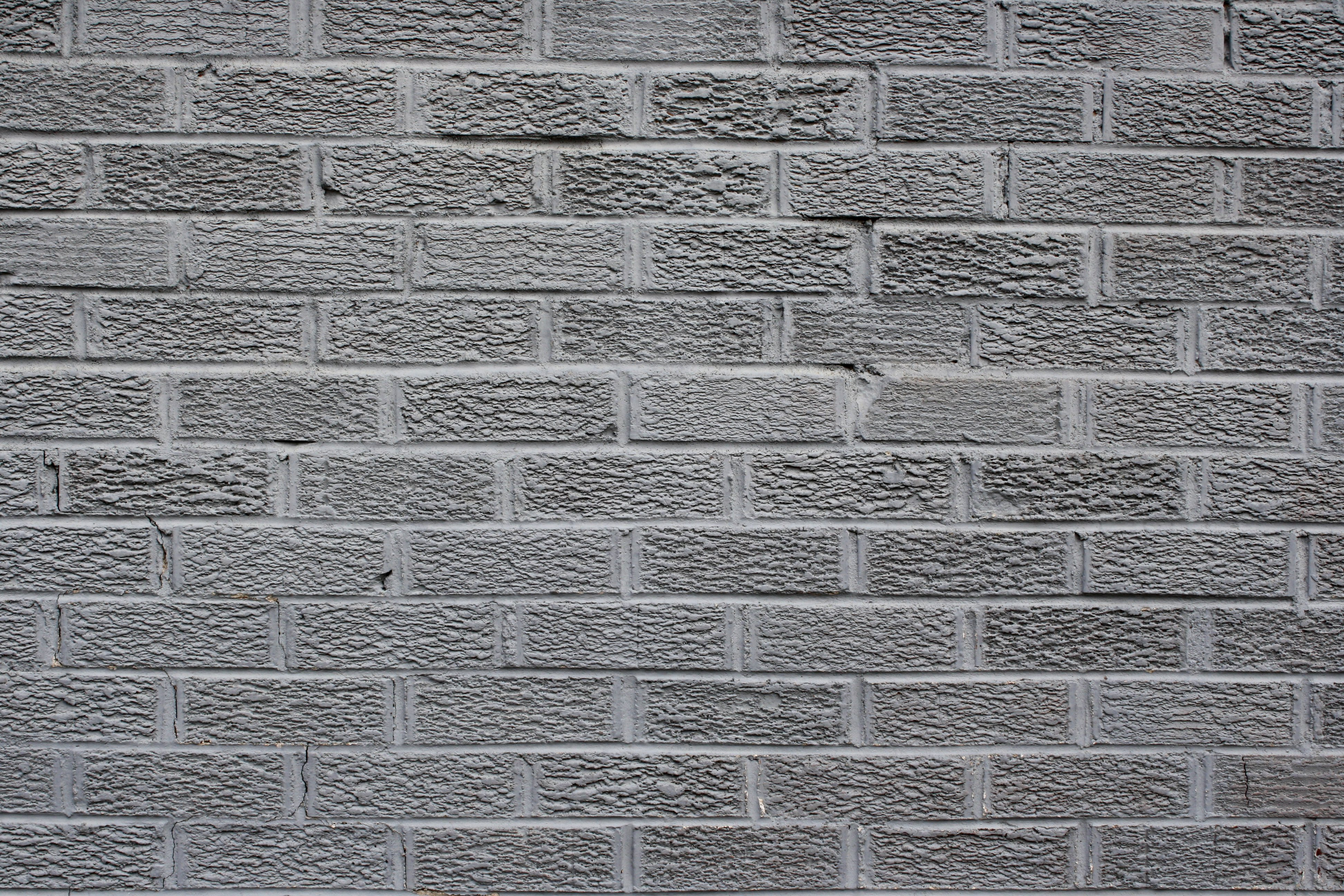 Gray Brick Wall Texture Picture Photograph Photos Public 3888x2592