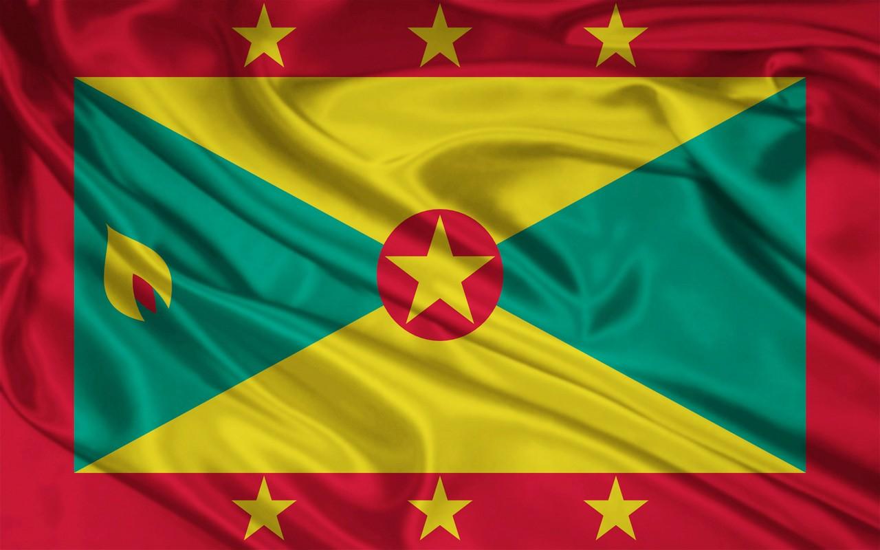 GRAAFIXBLOGSPOTCOM Flag of Grenada 1280x800