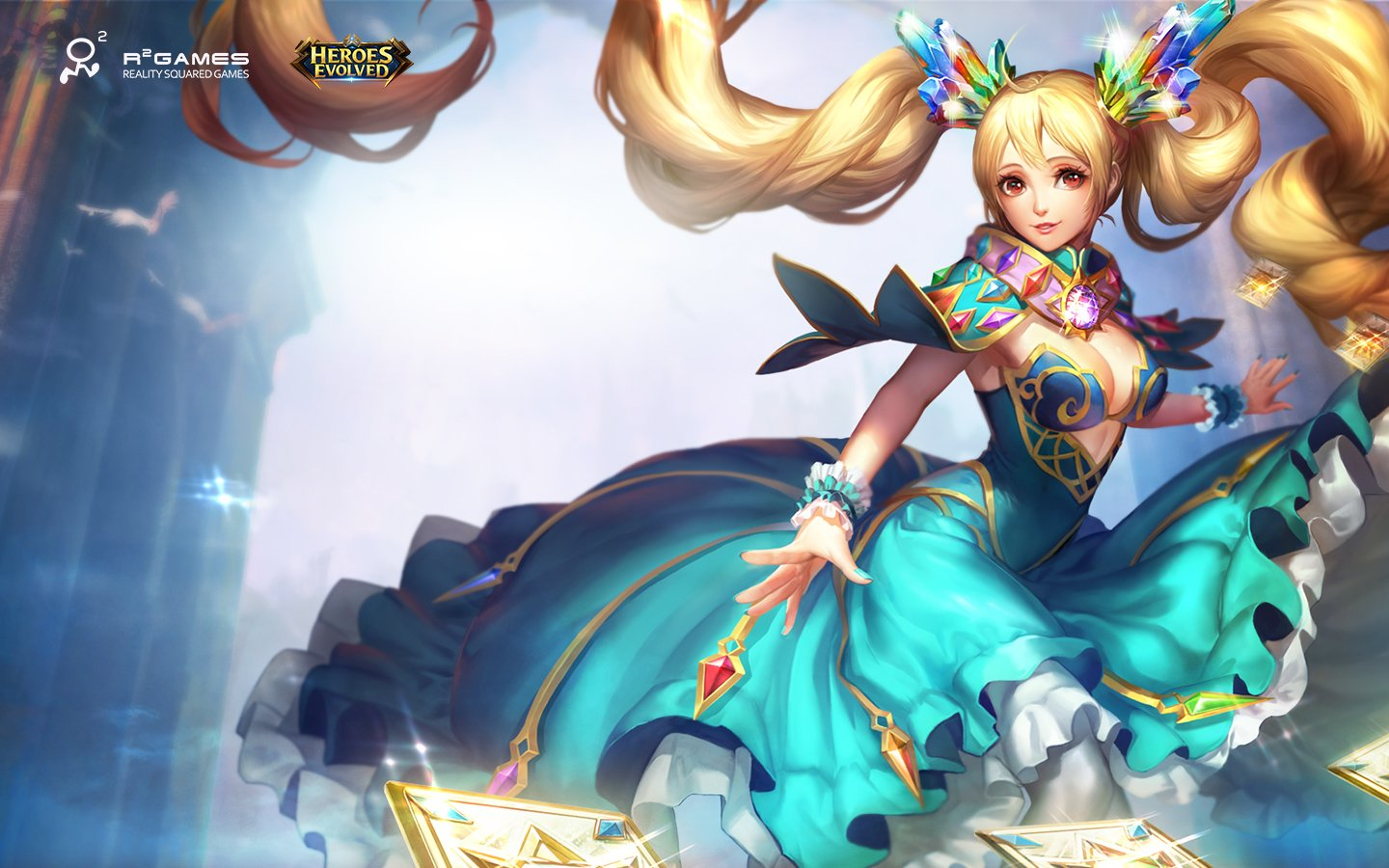 Media Heroes Evolved competitive MOBA 1440x900