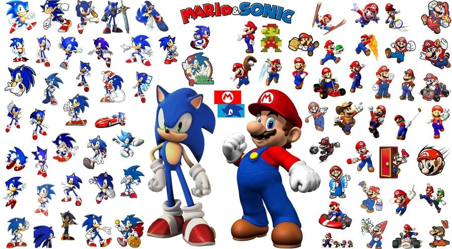 49+] Sonic and Mario Wallpaper on WallpaperSafari