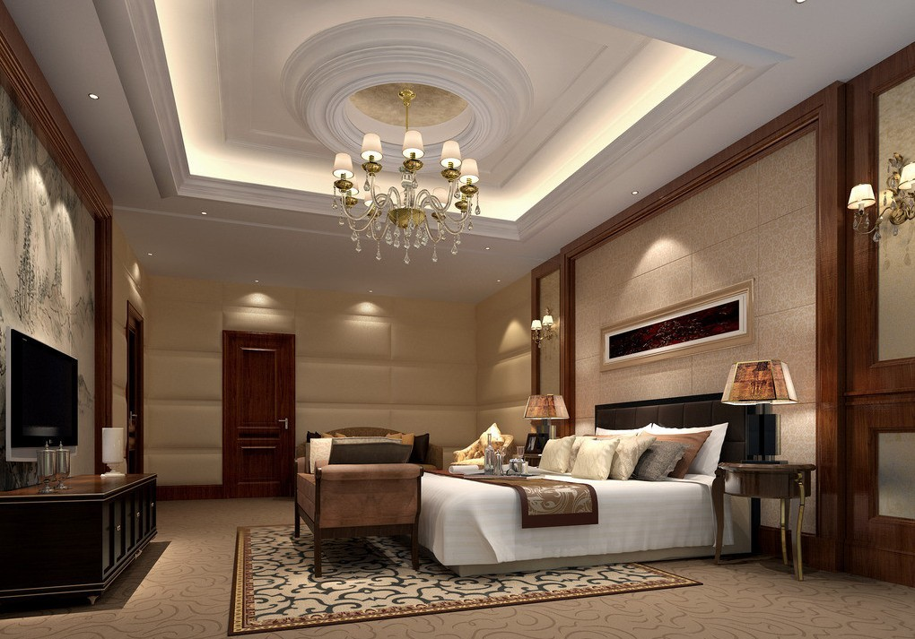 Bedroom 3d wallpaper 3D house 3D house pictures and wallpaper 1020x713