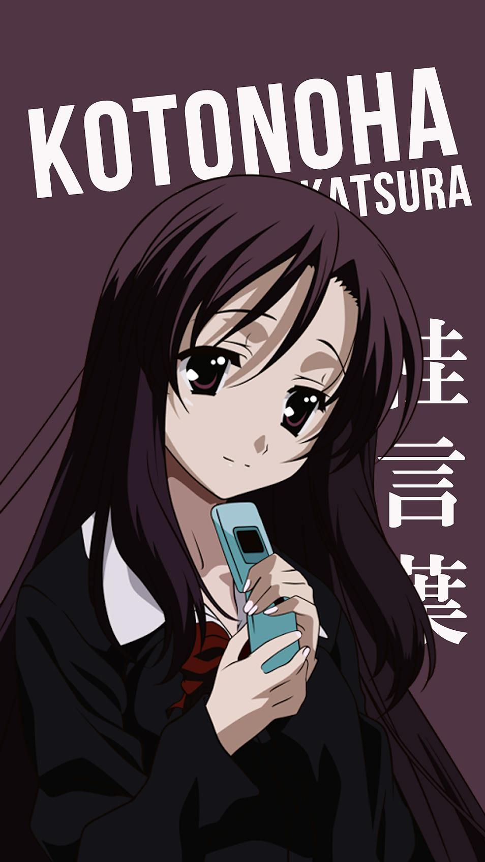 Kotonoha Katsura Korigengi Wallpaper Anime Katsura kotonoha 954x1696