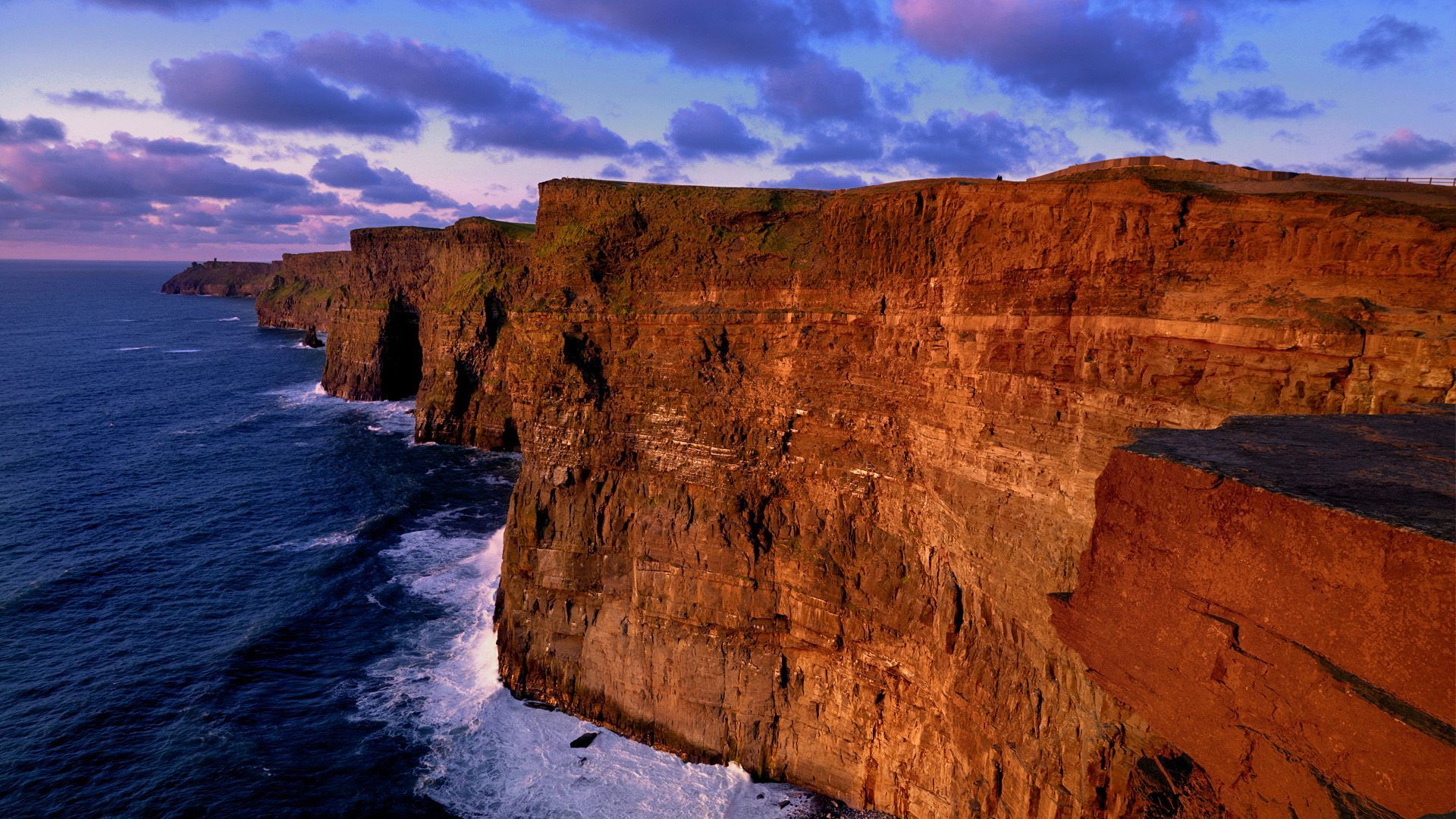 40 cliffs of moher ireland wallpaper on wallpapersafari - Cliffs of moher pictures ...
