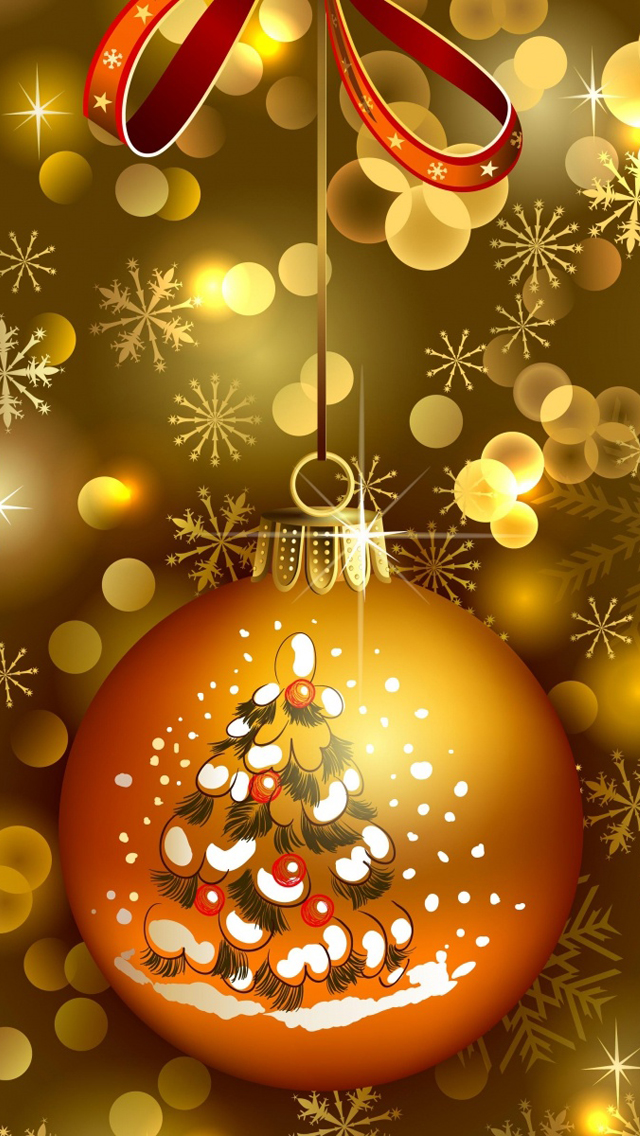 50 Christmas HD Wallpapers For Iphone 640x1136