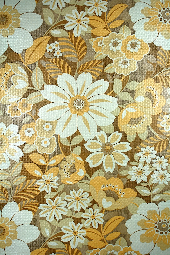 46 Yellow And Brown Wallpaper On Wallpapersafari