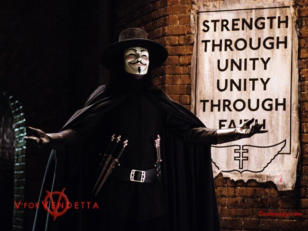 V for Vendetta Wallpaper   V for Vendetta Wallpaper 1024x768