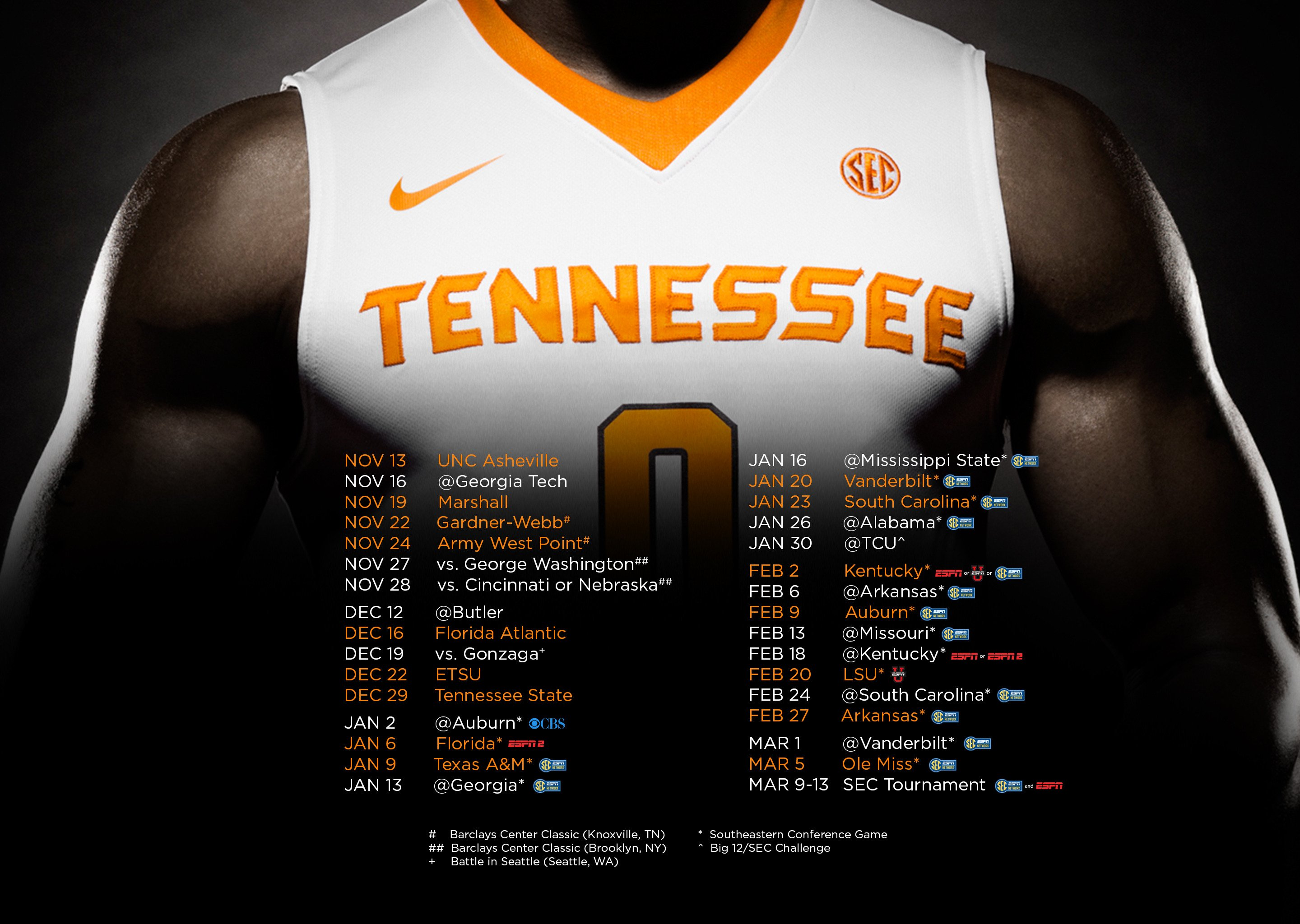 Tennessee Basketball Schedule Finalized Rocky Top Insider 2880x2048