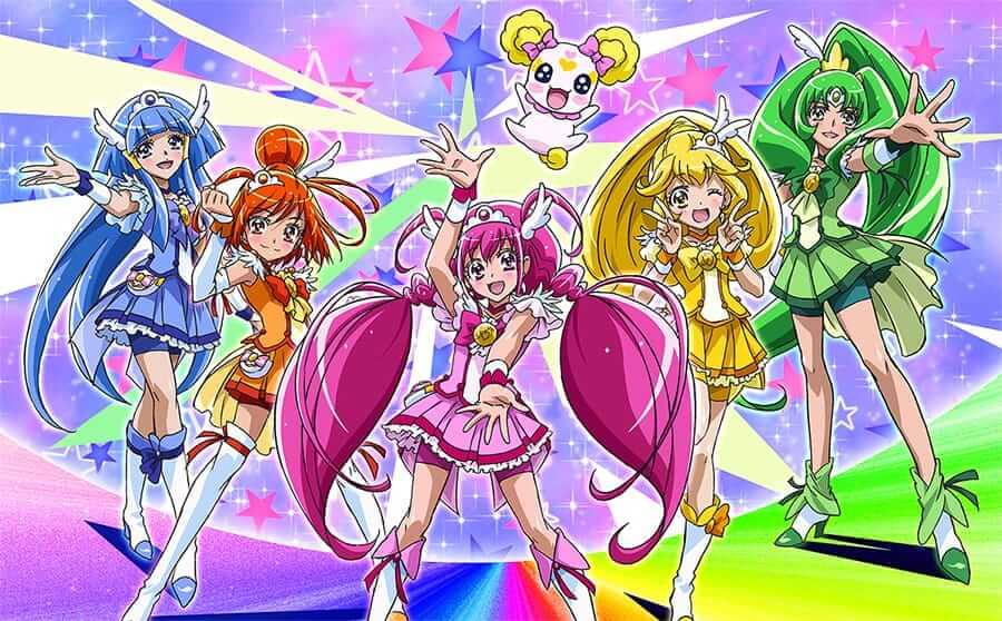 Netflix Original Anime Glitter Force arrives on December 18th 900x558
