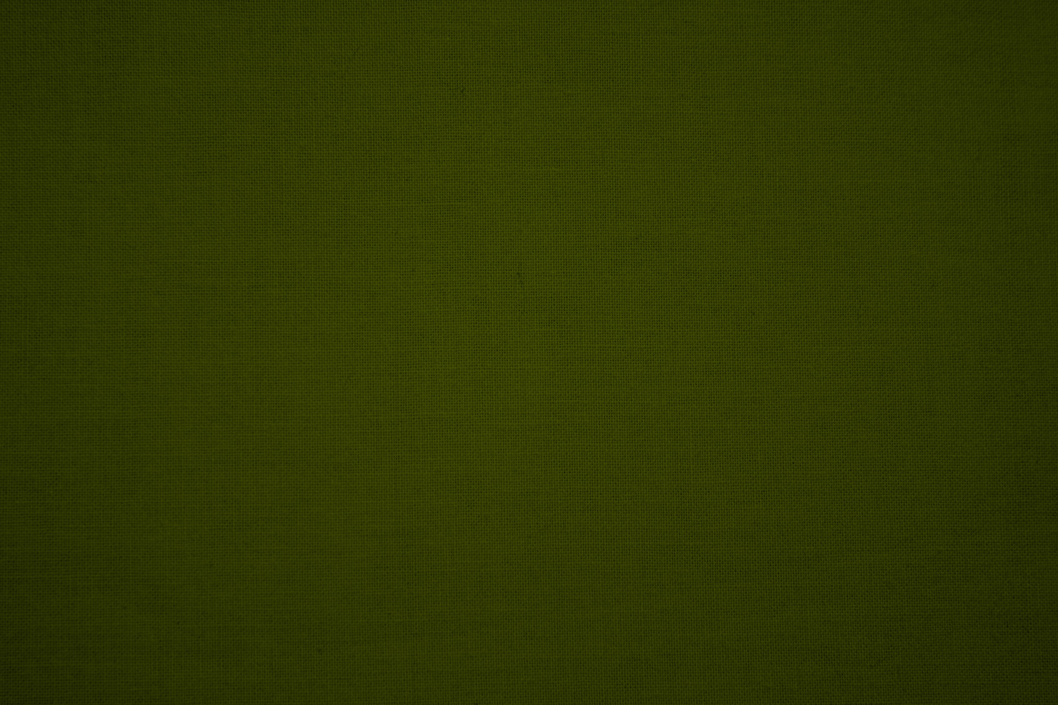 Olive Green Canvas Fabric Texture Picture 3600x2400
