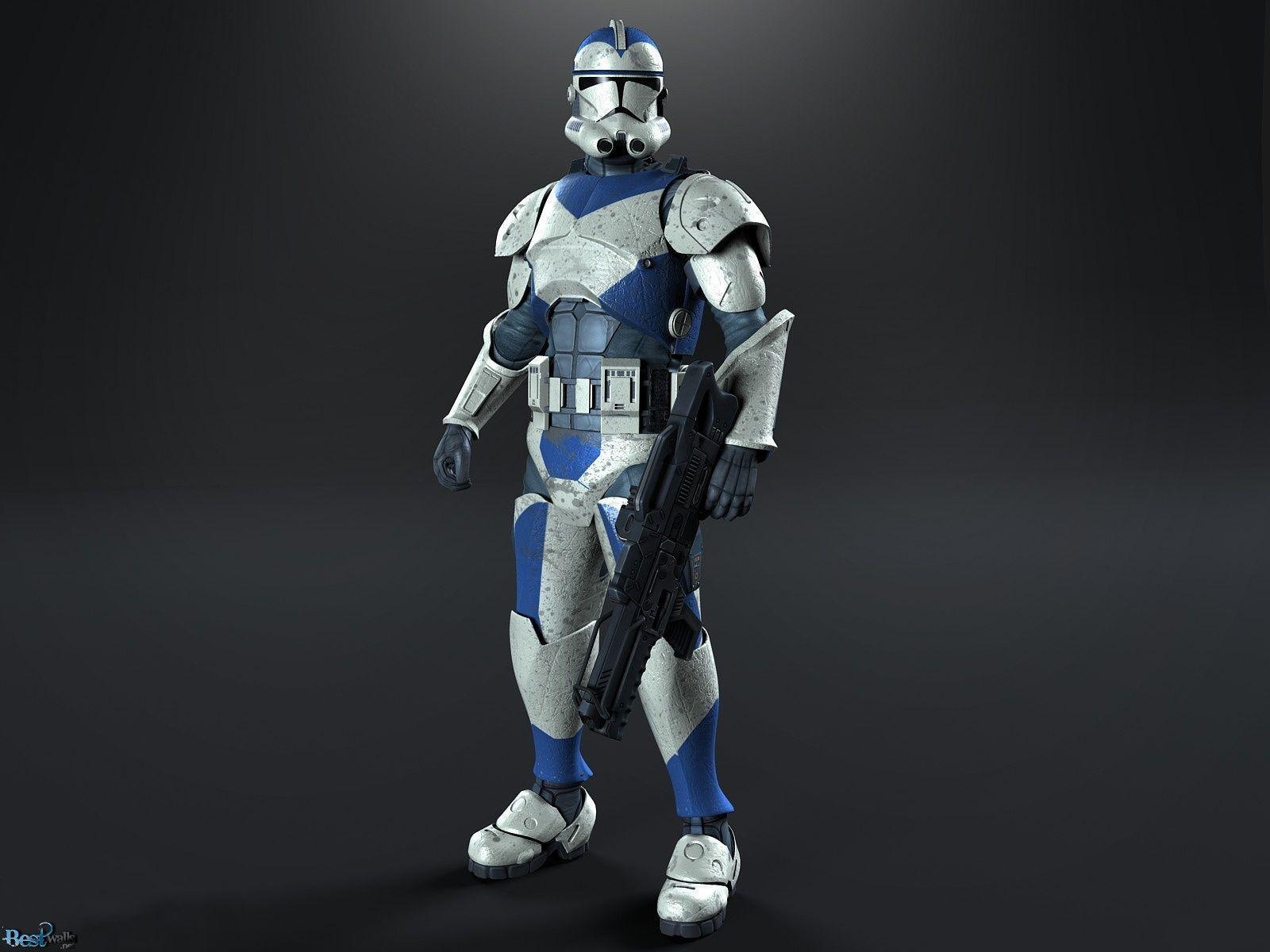 Star Wars Clone Wars Wallpaper: Star Wars Clone Trooper Wallpaper