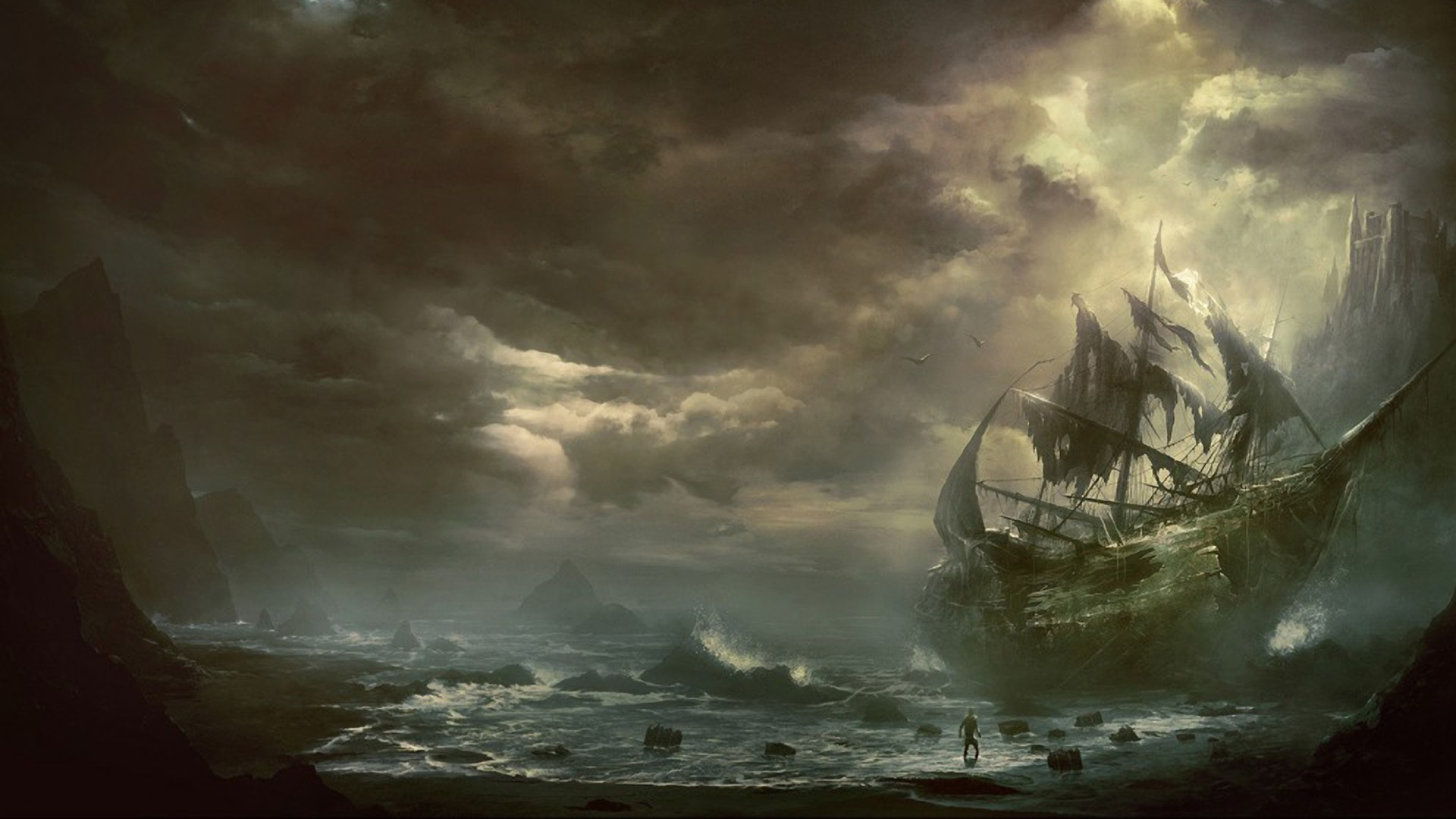 Sea Pirate Wallpapers Best Desktop Wallpaper Pictures