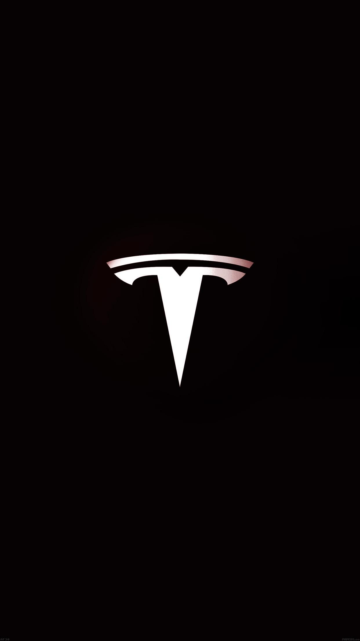 30 units of Tesla Wallpaper Tesla roadster Tesla motors Motor logo 1242x2208