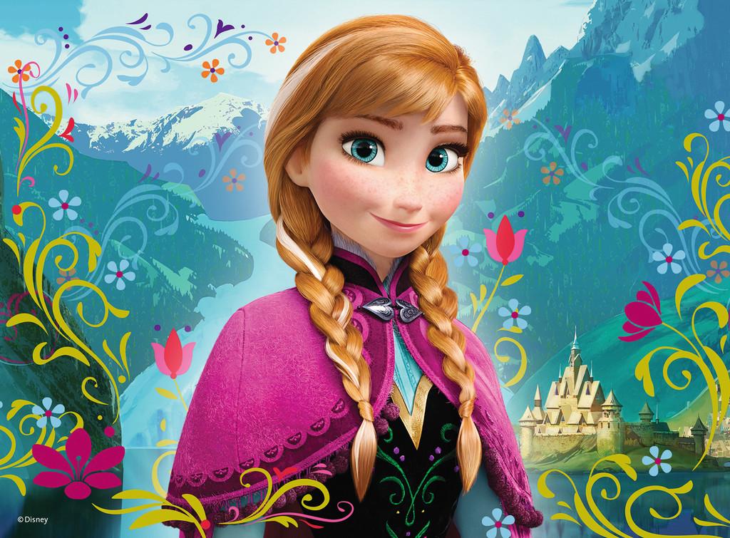 Frozen Anna Wallpaper on WallpaperSafari