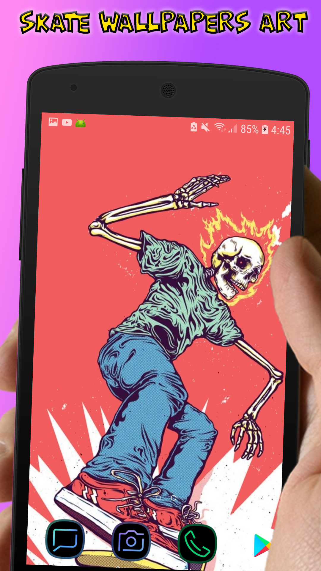 Amazoncom Skate Wallpapers Art   4K Offline Wallpaper And 1080x1920