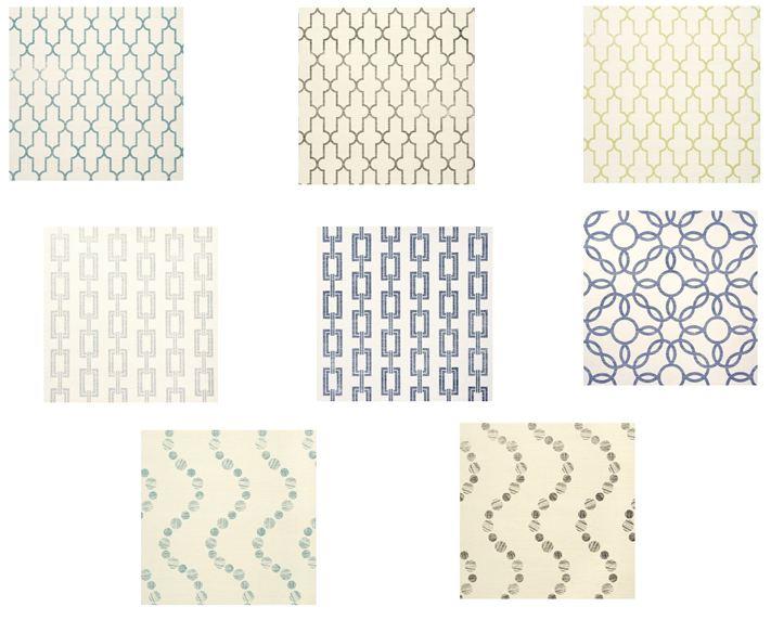 My favorite Phillip Jeffries printed wallpapers clockwise from top 711x572
