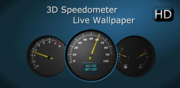 3D Speedometer Live Wallpaper   Android Apps on Google Play 705x345