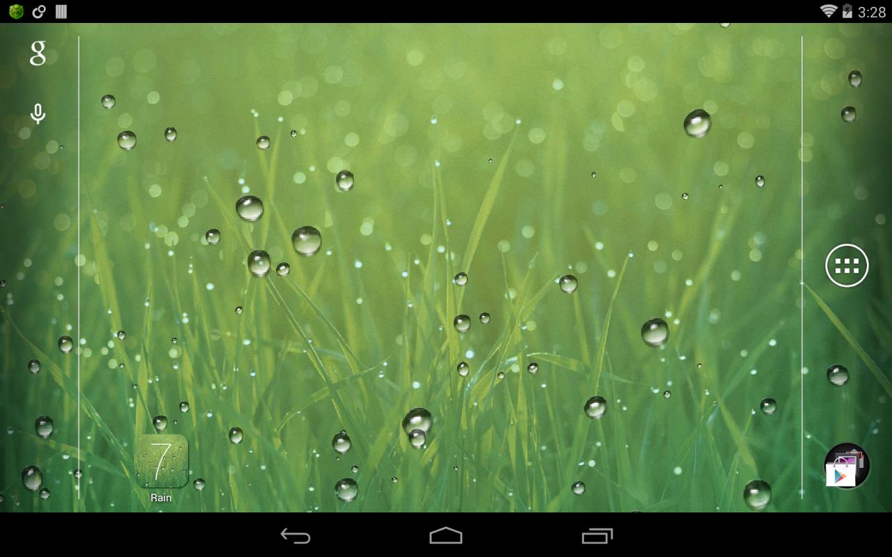 Rain Live Wallpaper   screenshot 1280x800