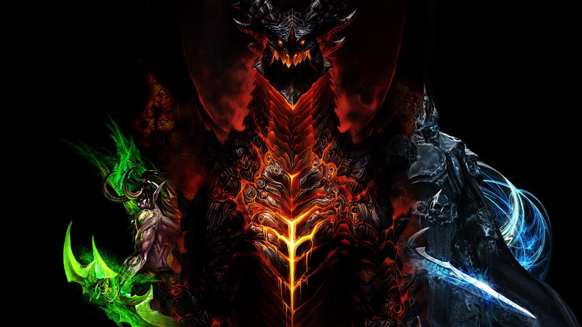 Free Download Stormrage Lich King World Of Warcraft Wallpaper