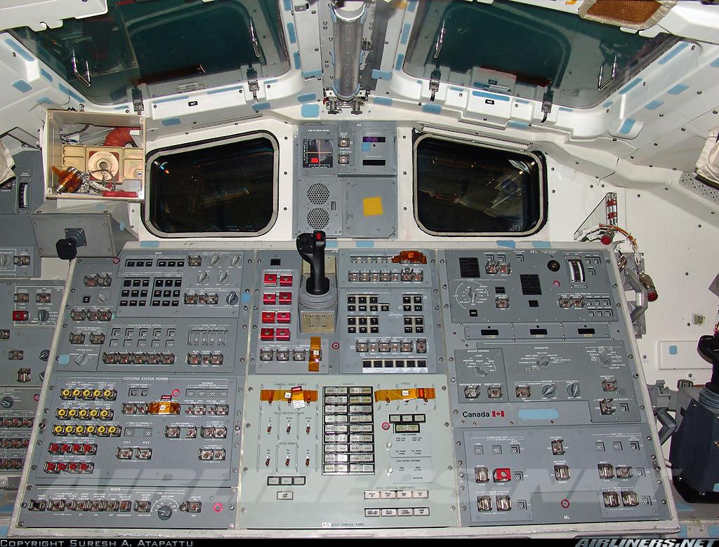 space shuttle enterprise cockpit - photo #15