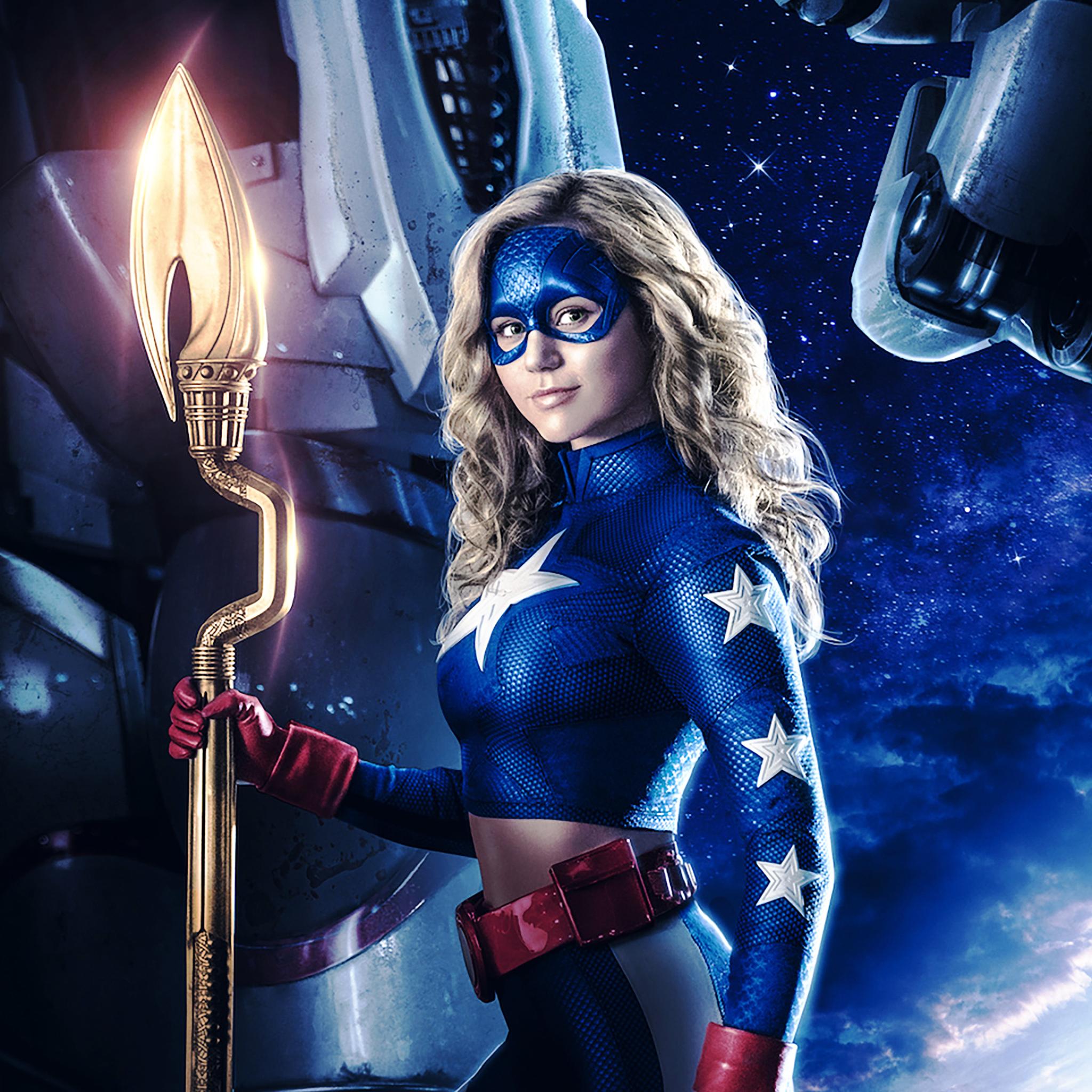 2048x2048 Stargirl DC Universe Ipad Air Wallpaper HD TV Series 4K 2048x2048