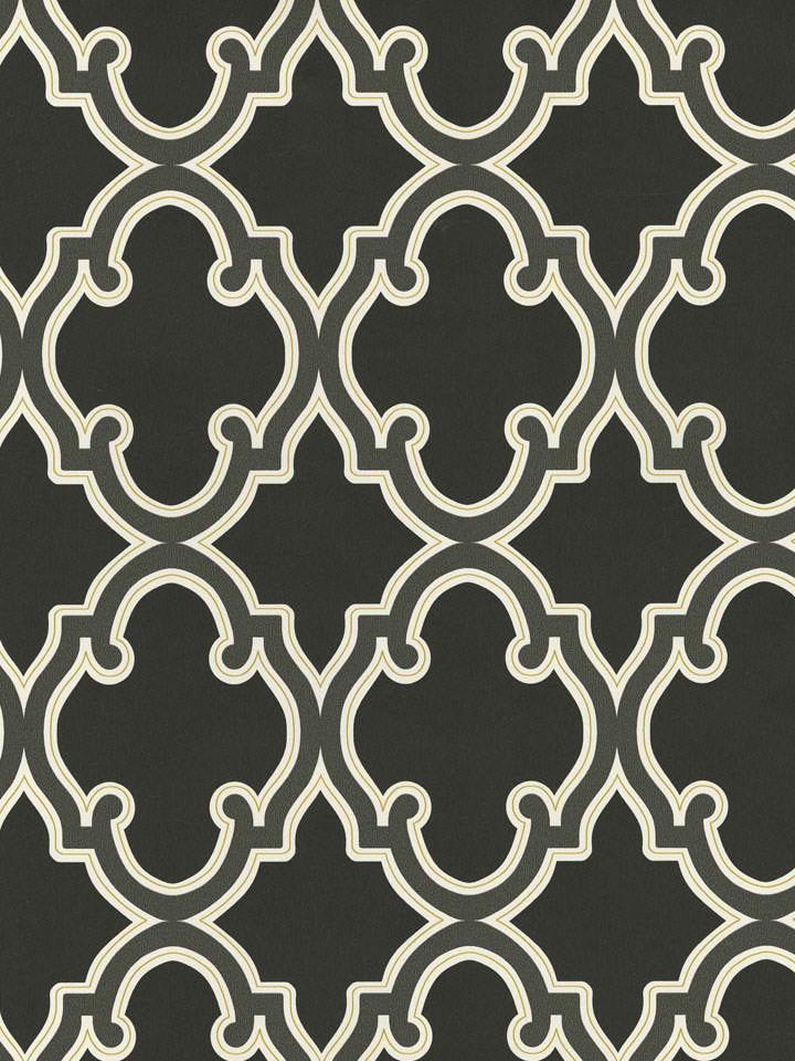 Black 283 62940 Lattice Wallpaper   Traditional Wallpaper 720x960
