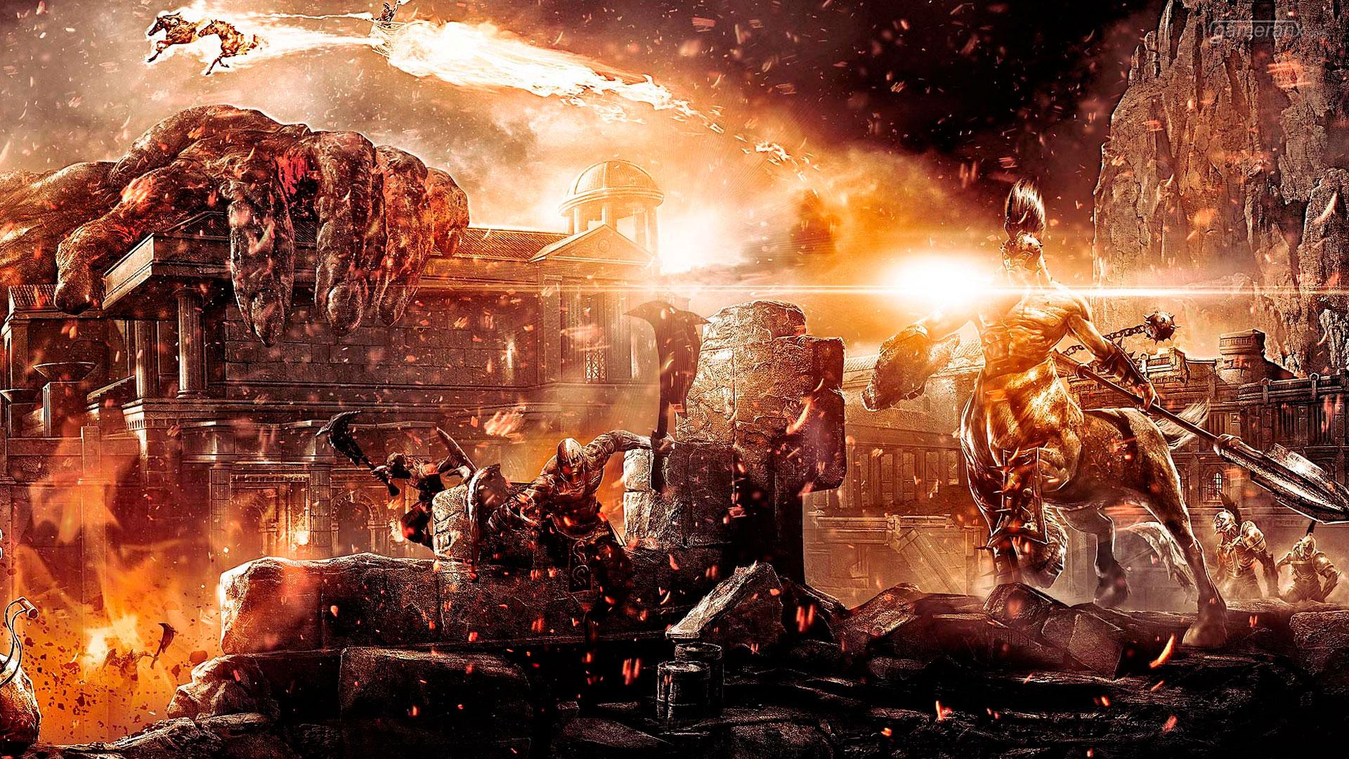 God of War III 1080p Wallpaper God of War III 720p Wallpaper 1920x1080