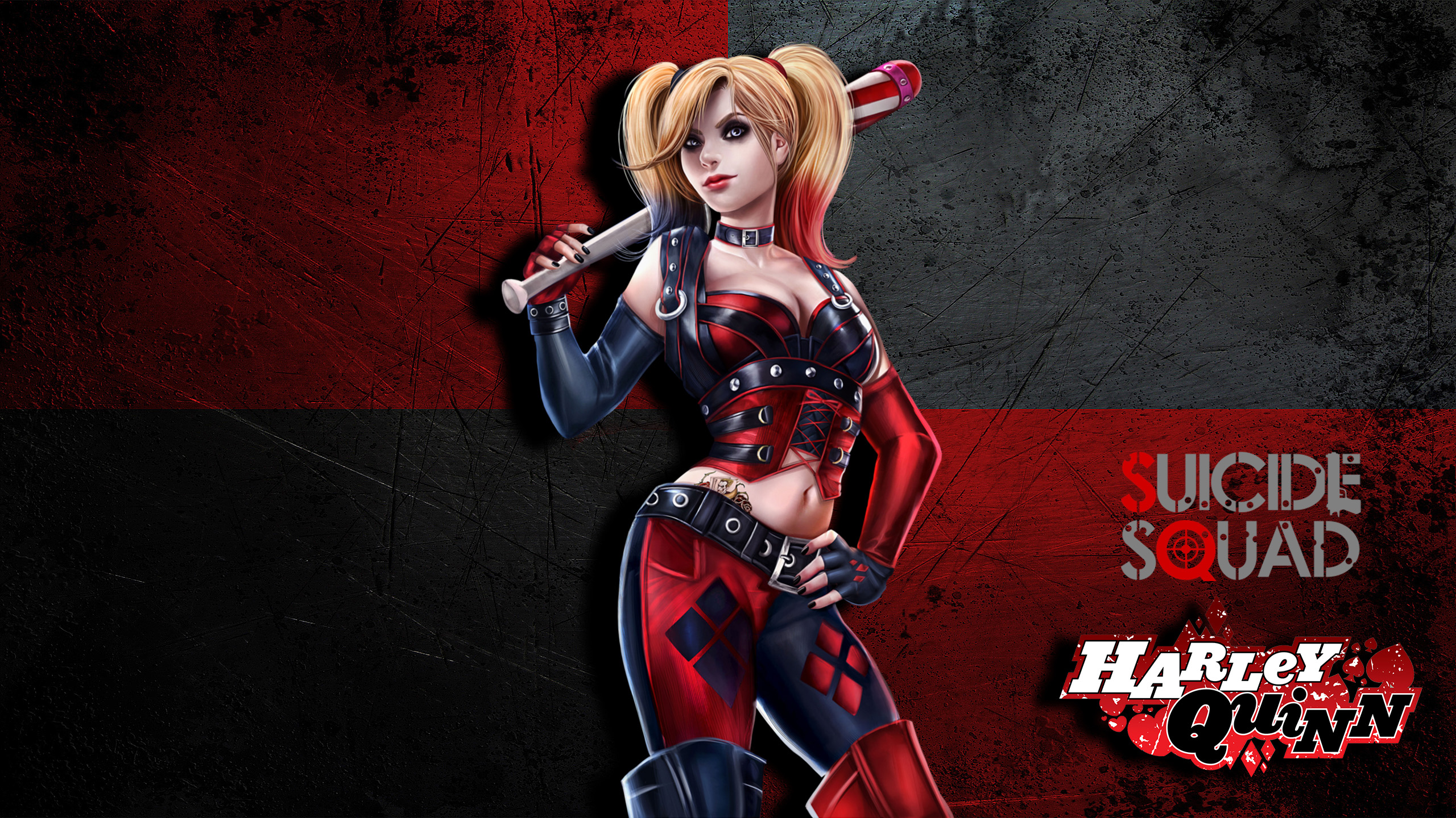 Suicide Squad 2016 Movie wallpaper Harley Quinn HD Wallpapers 2560x1440