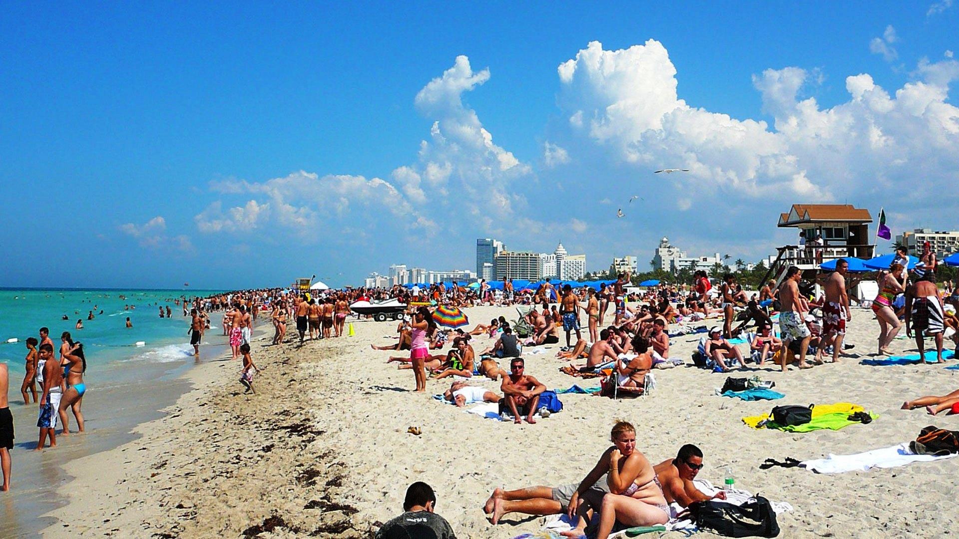Miami Beach Florida USA HD Wallpaper Miami Beach Florida USA 1920x1080