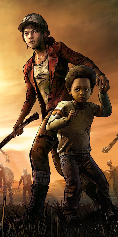 Video GameThe Walking Dead The Final Season 720x1440 Wallpaper 720x1440
