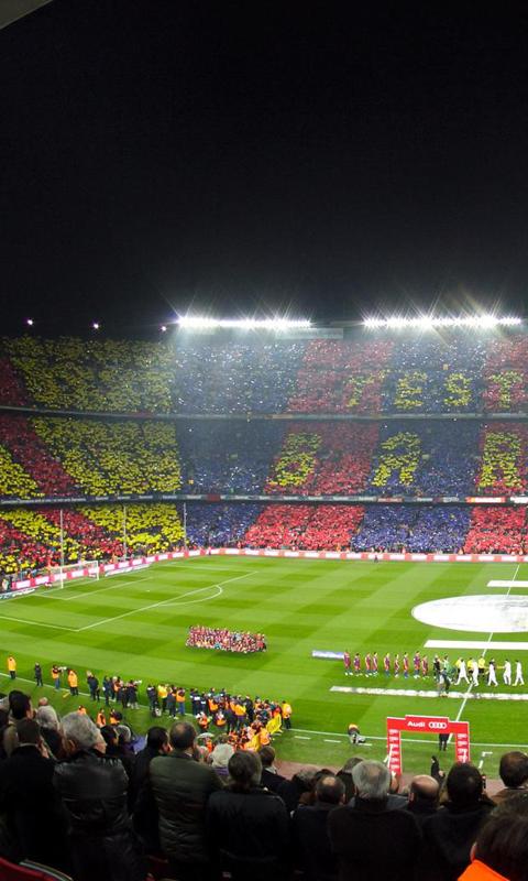 HD Football Field Wallpaper - WallpaperSafari