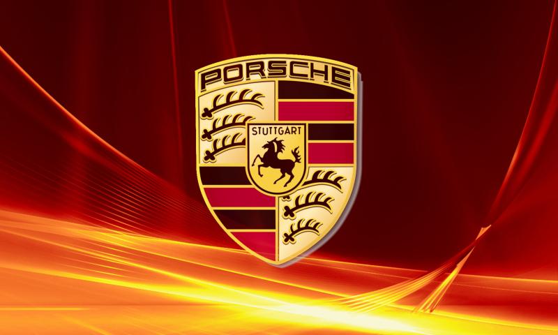 Porsche Logo Wallpaper for 800x480 800x480