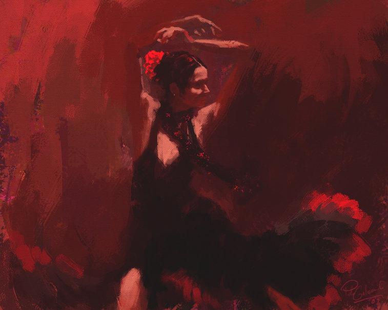 flamenco wallpaper wallpapersafari - photo #1
