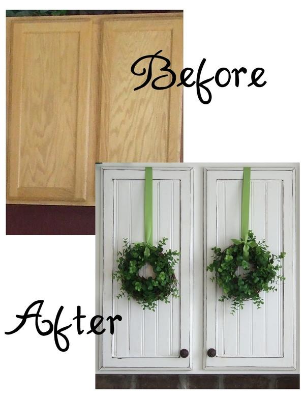 Beadboard Cabinet Doors Tree falling Pinterest 600x776