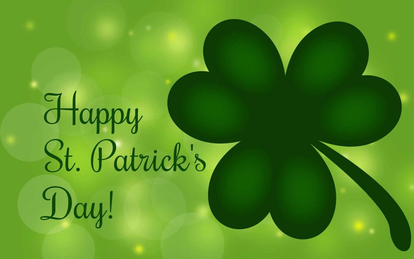 download Download Happy Saint Patricks Day wallpaper 1728x1080