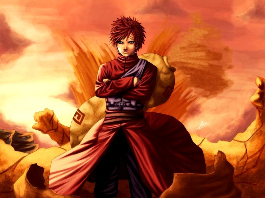 Gaara Wallpapers 1024x768