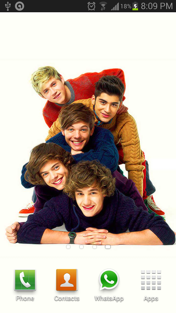 One Direction Live Wallpaper for android One Direction Live Wallpaper 576x1024
