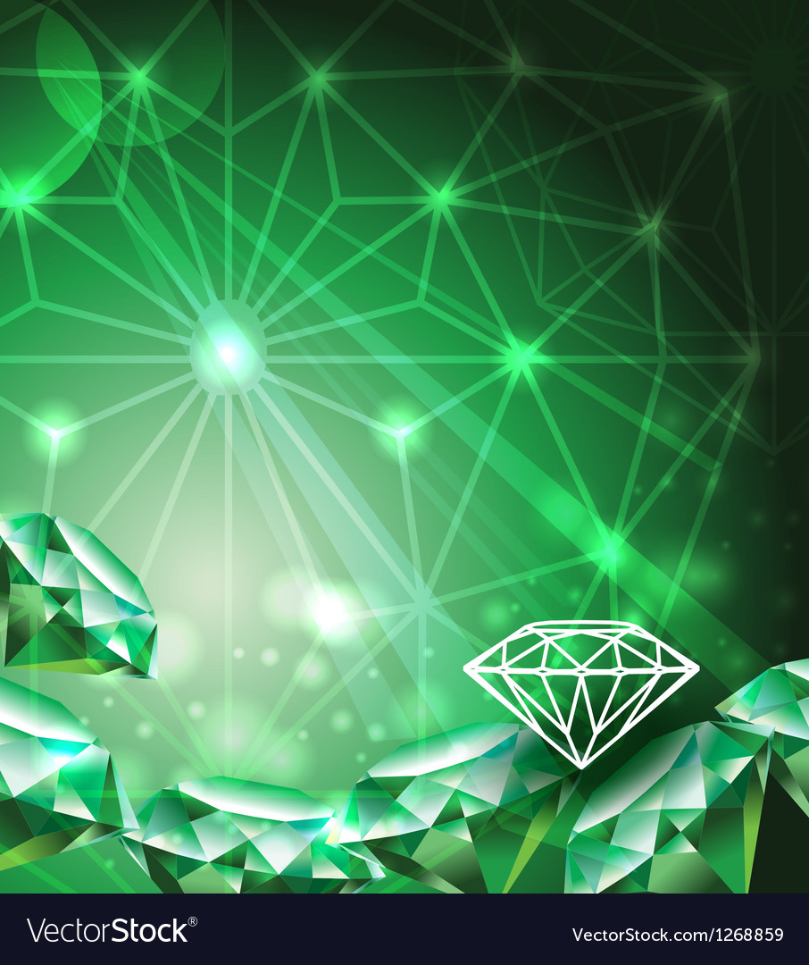 46 Emerald Background On Wallpapersafari