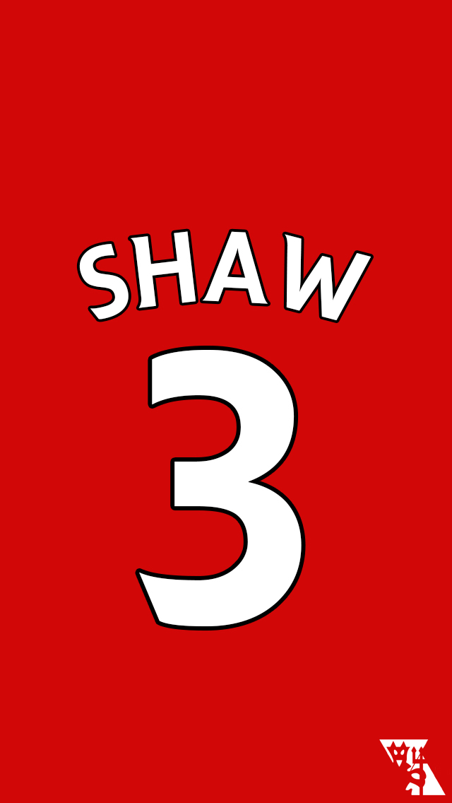 Luke Shaw   Player Background by MUFCDesign 640x1136