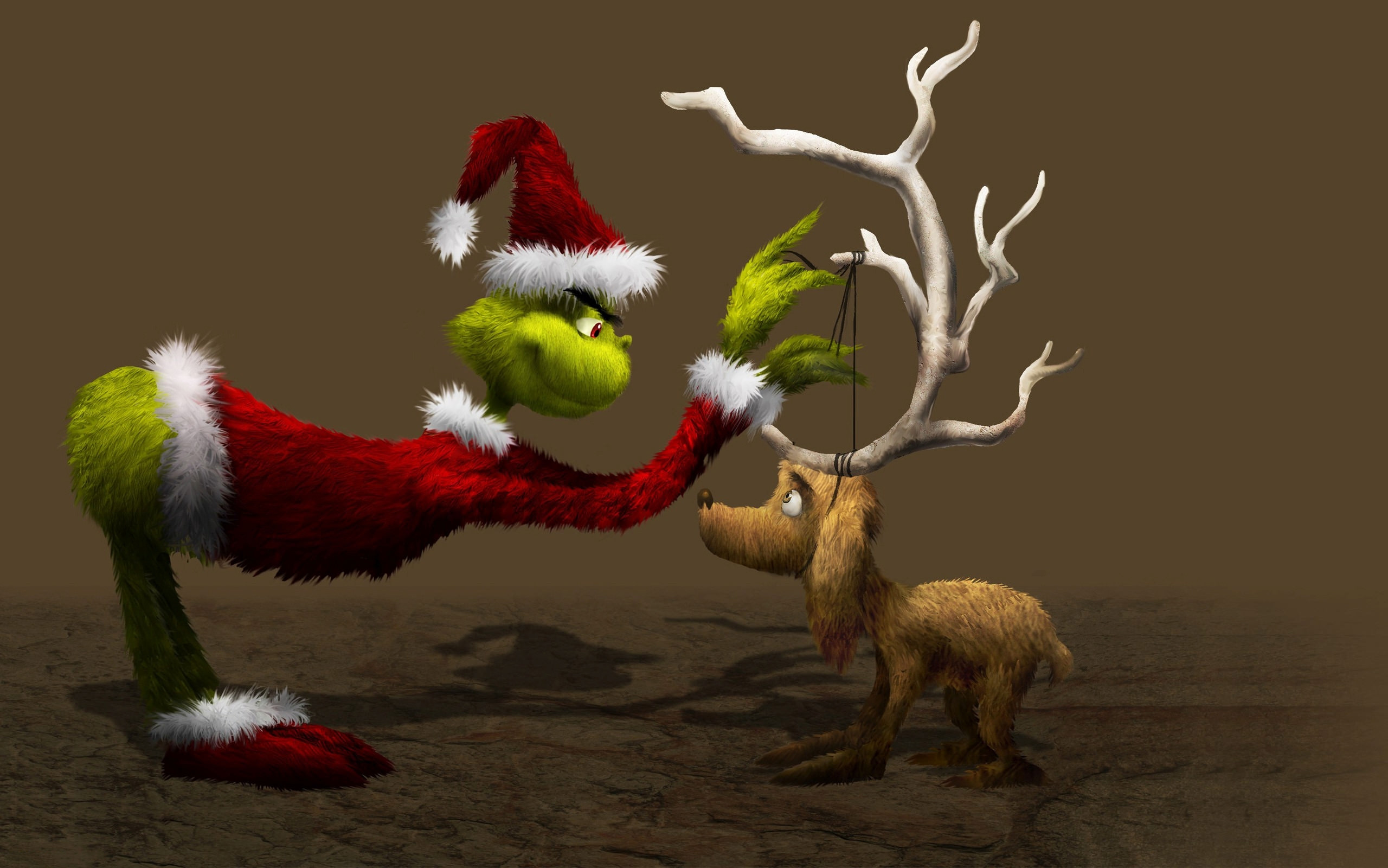 Grinch and Max Computer Wallpapers   Top Grinch and Max 2560x1600