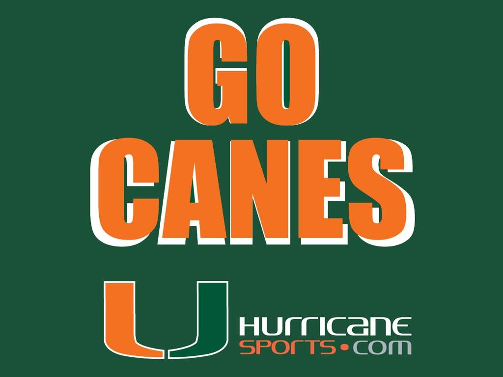 Miami Hurricane Desktop Wallpaper 1024x768