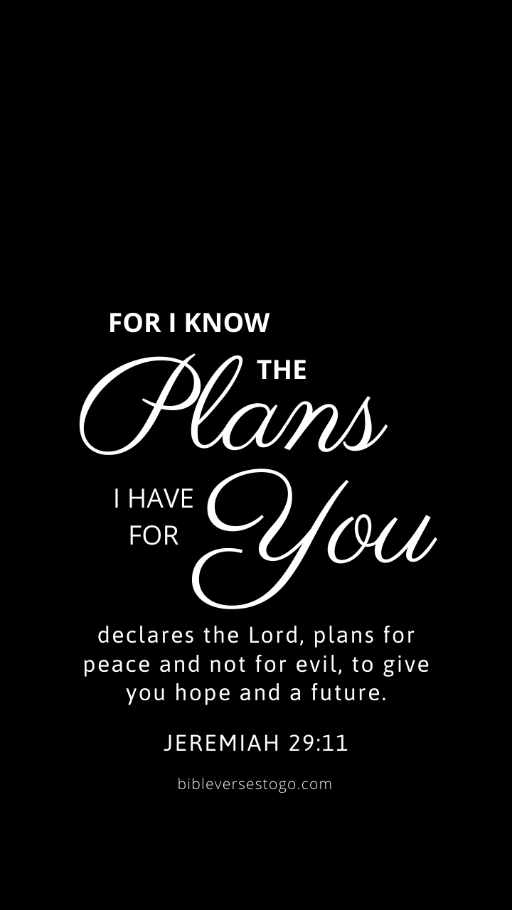 Black Jer 2911   Bible Verses To Go 720x1280