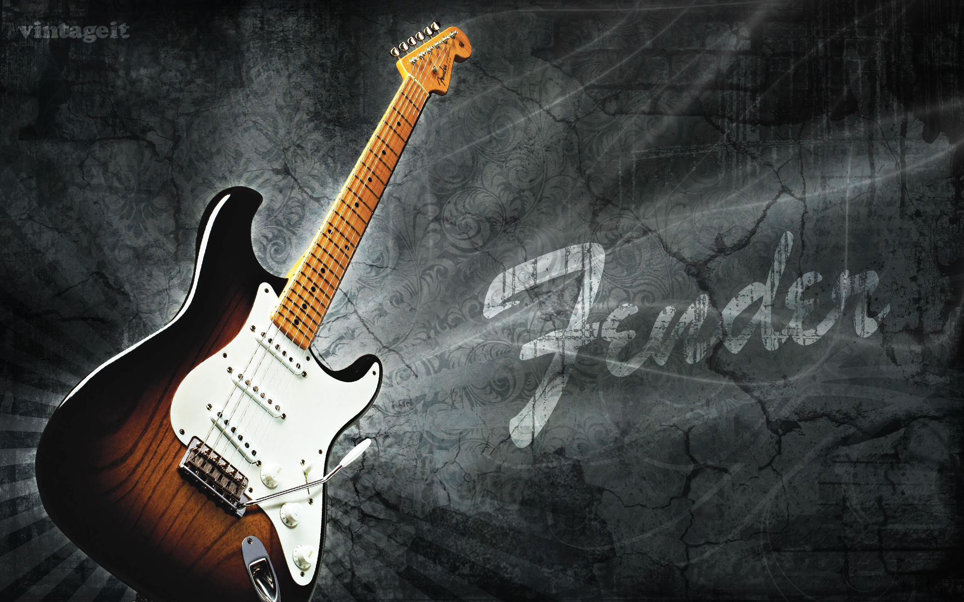 fender stratocaster wallpaper hd wallpapersafari