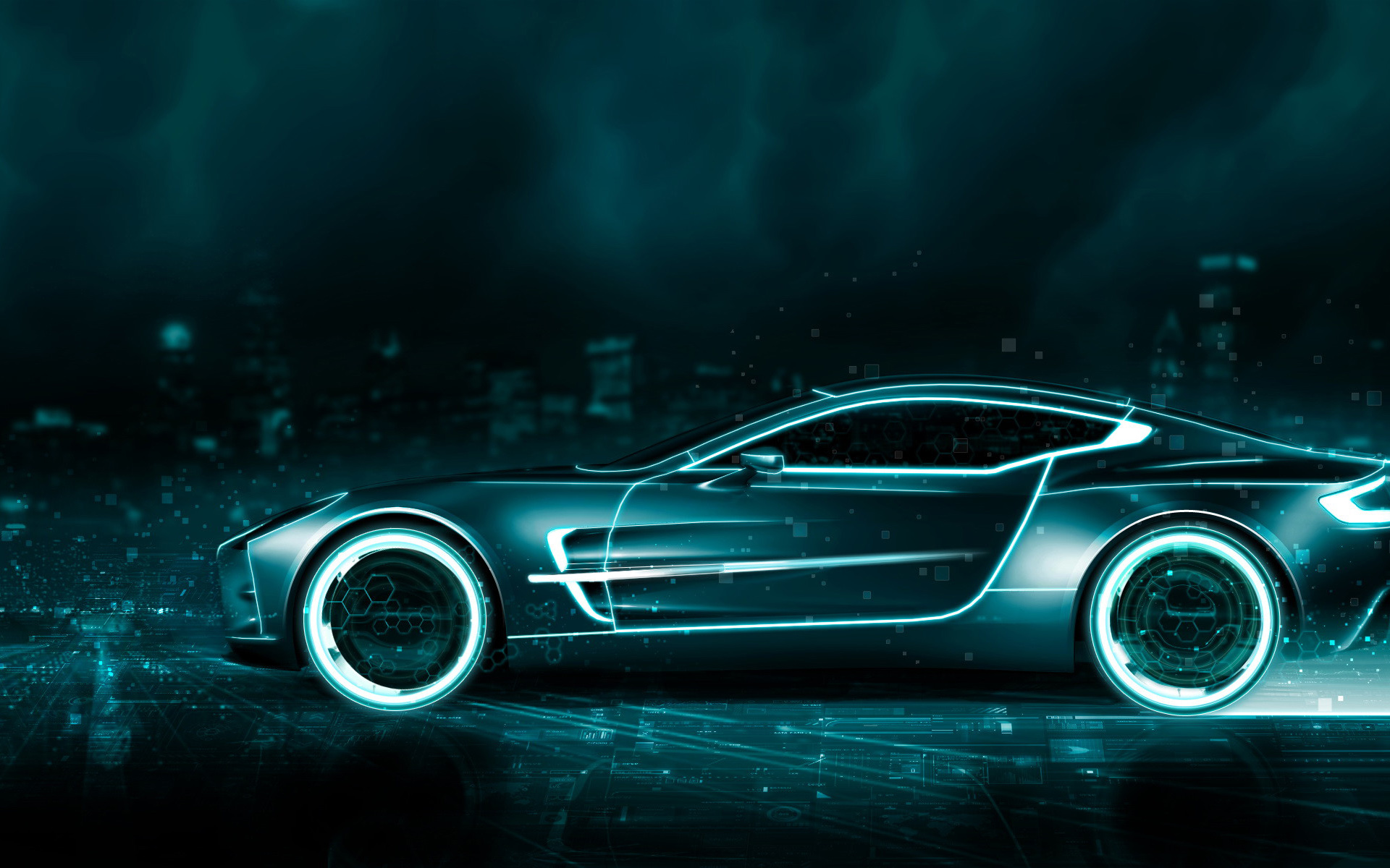 Tron Aston Martin Wallpapers HD Wallpapers 1920x1200